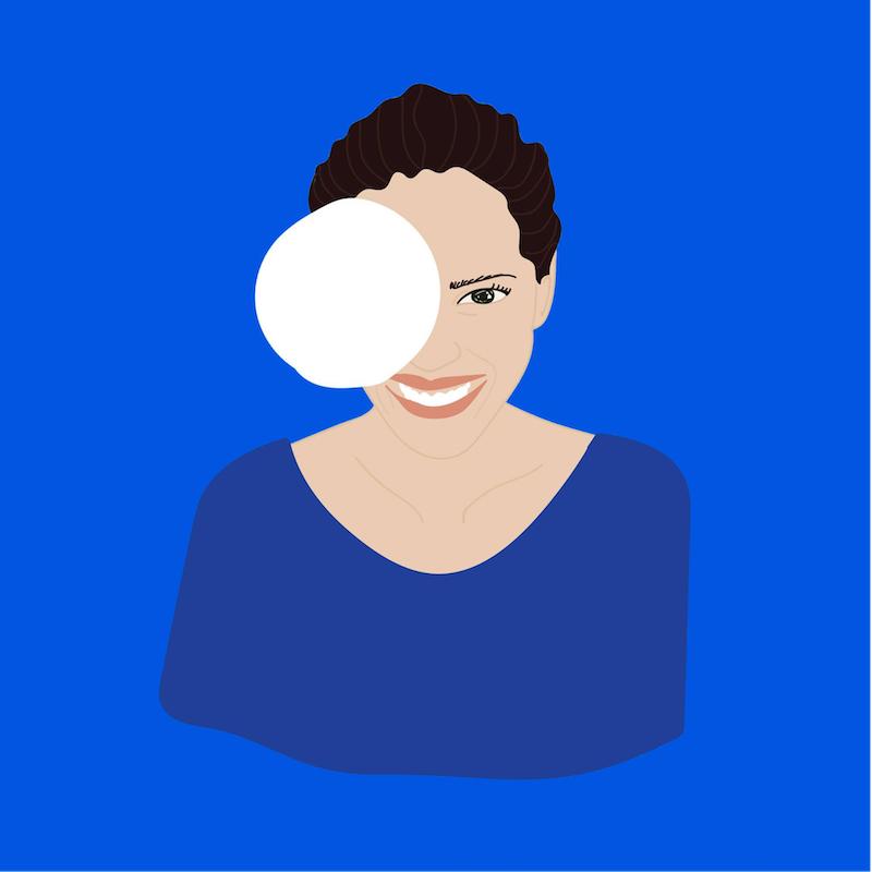 Illustration de Pauline, réalisée par Alice, de La Patronnerie (@aliceguyot)
