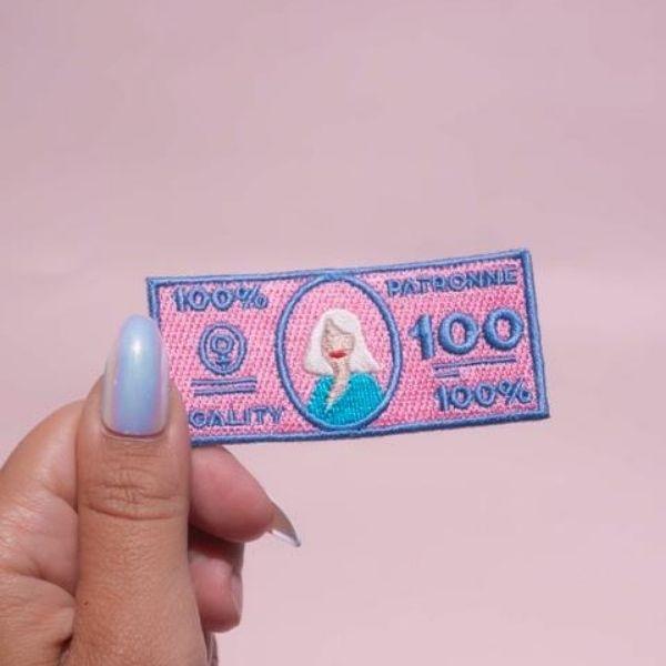 Patch Dollar Patronne